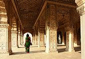 Interior of Red Fort, Delhi, India