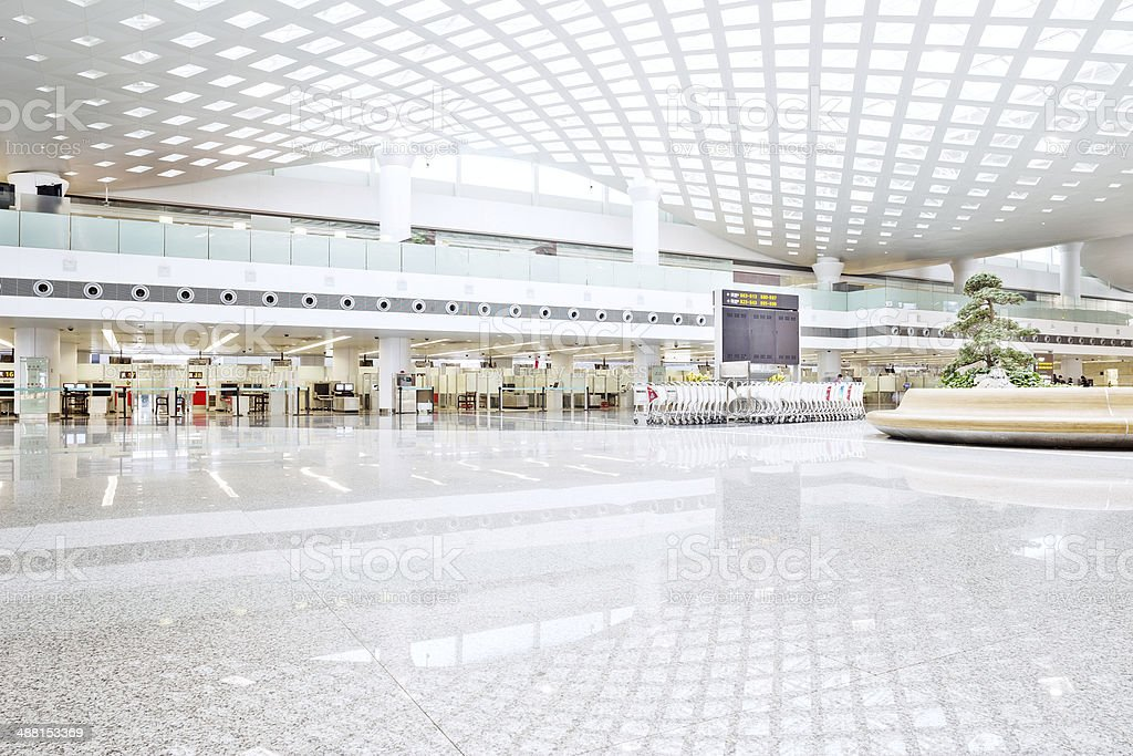interior of shoppingmall stock photo