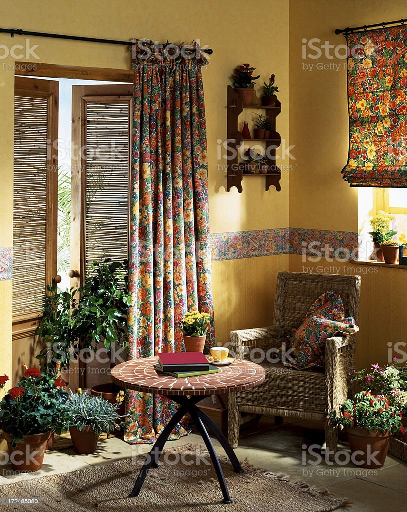 Interior of small living room royalty-free stock photo