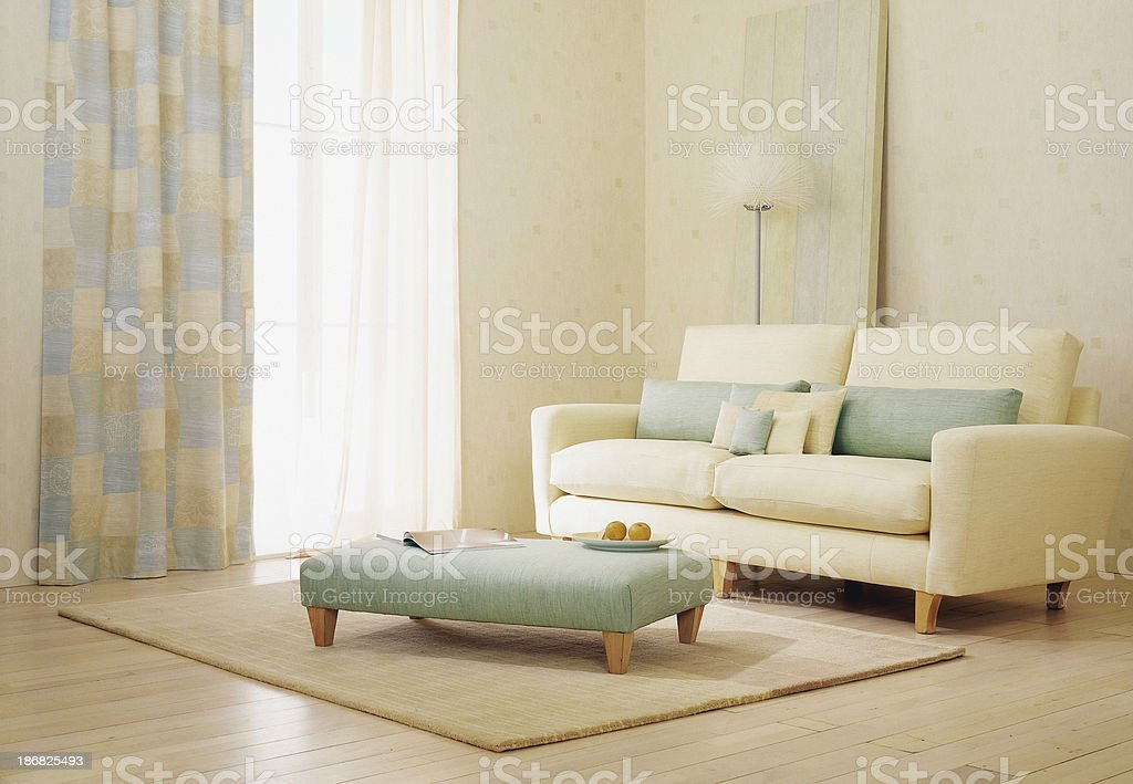 Interior of sofa royalty-free stock photo