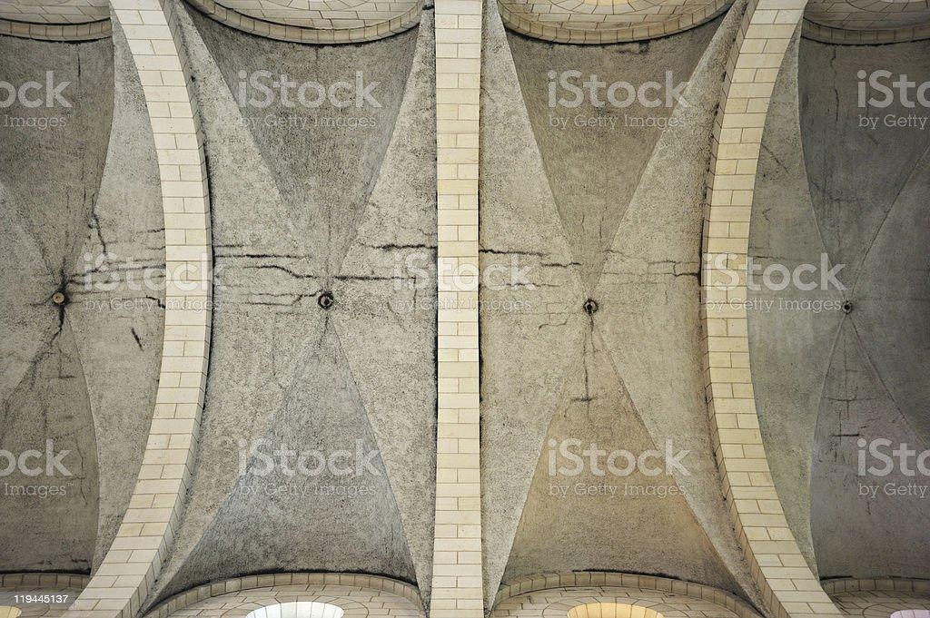 Interior of the church in monastery Latrun stock photo