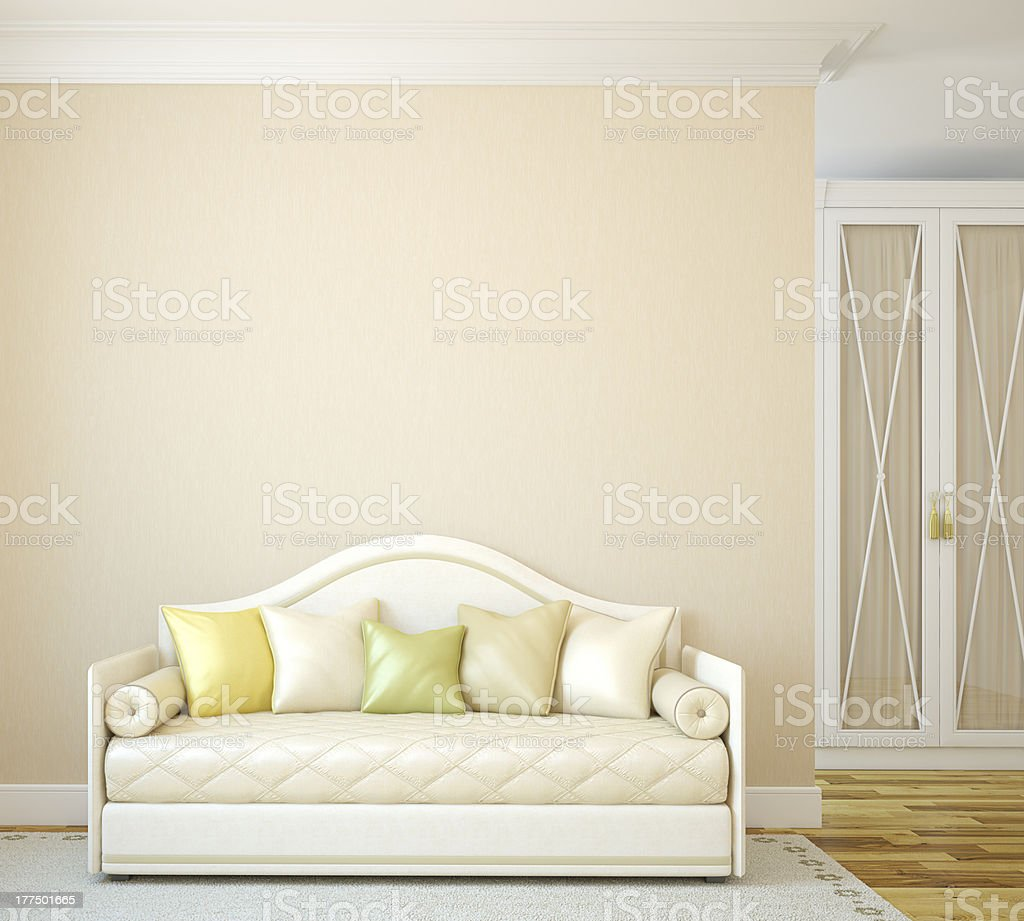 Interior of toddler room. royalty-free stock photo