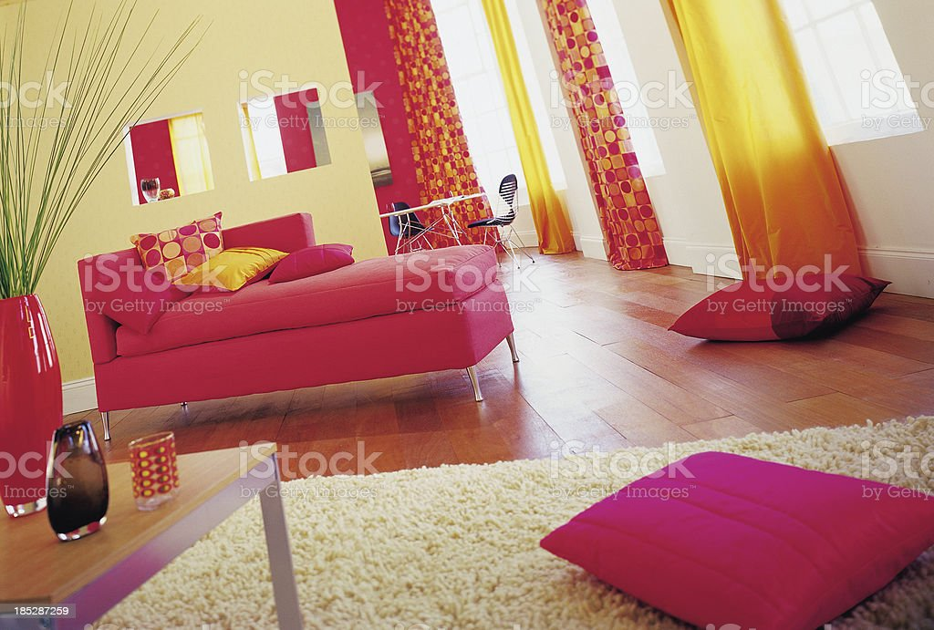 Interior of traditional Lounge / Living Room royalty-free stock photo