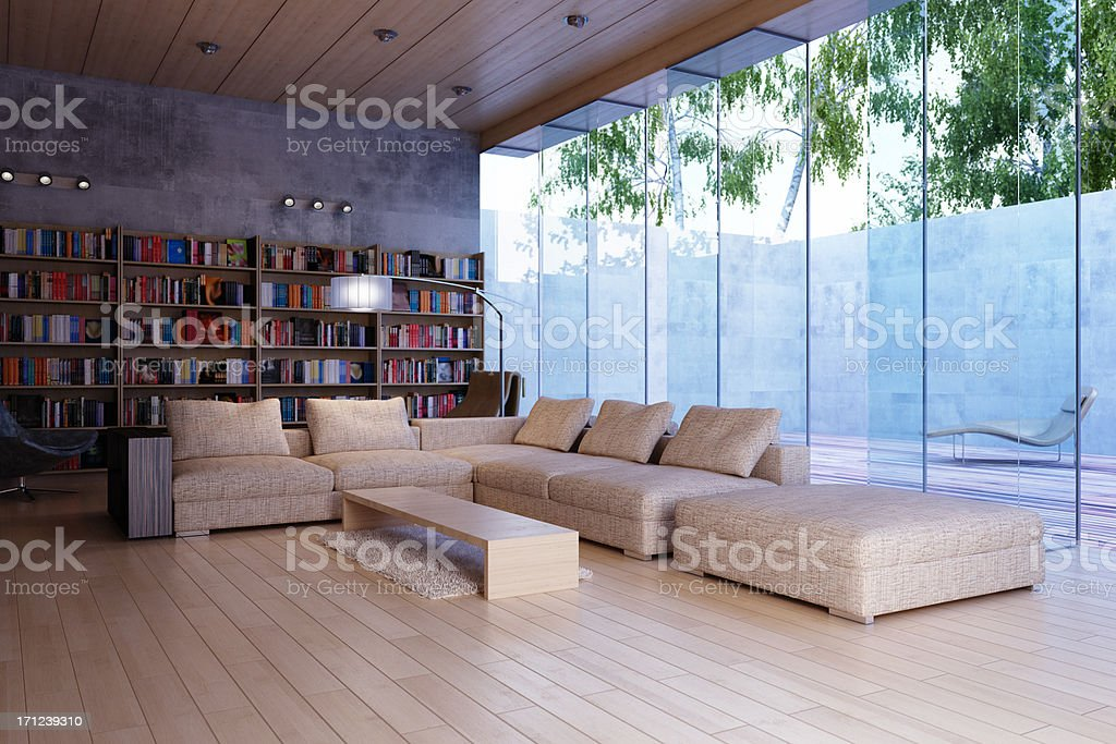 Interior royalty-free stock photo