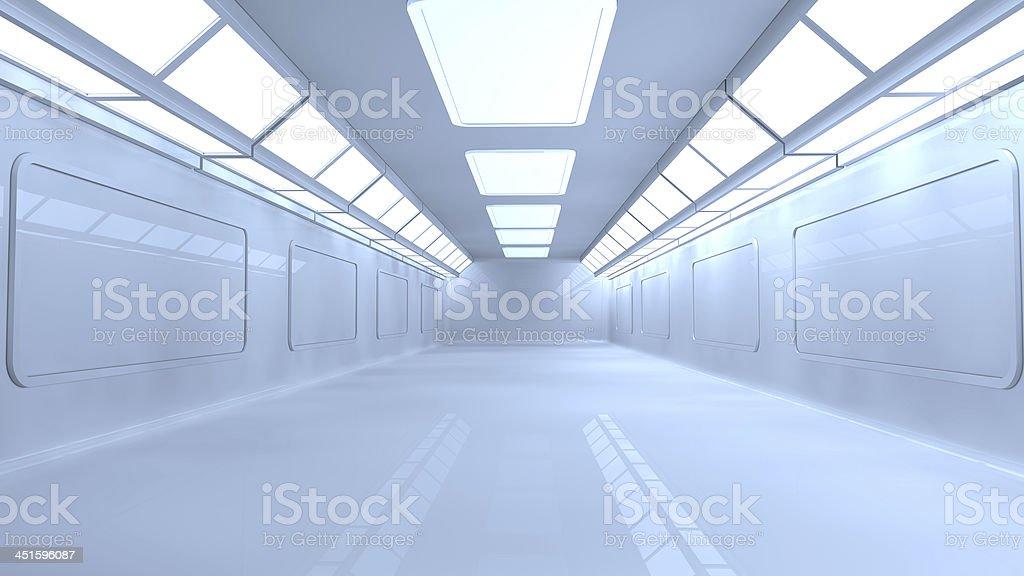 SCIFI interior stock photo