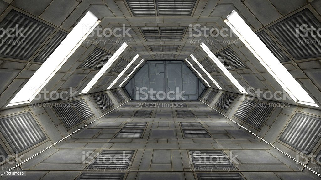 SCIFI interior stock photo