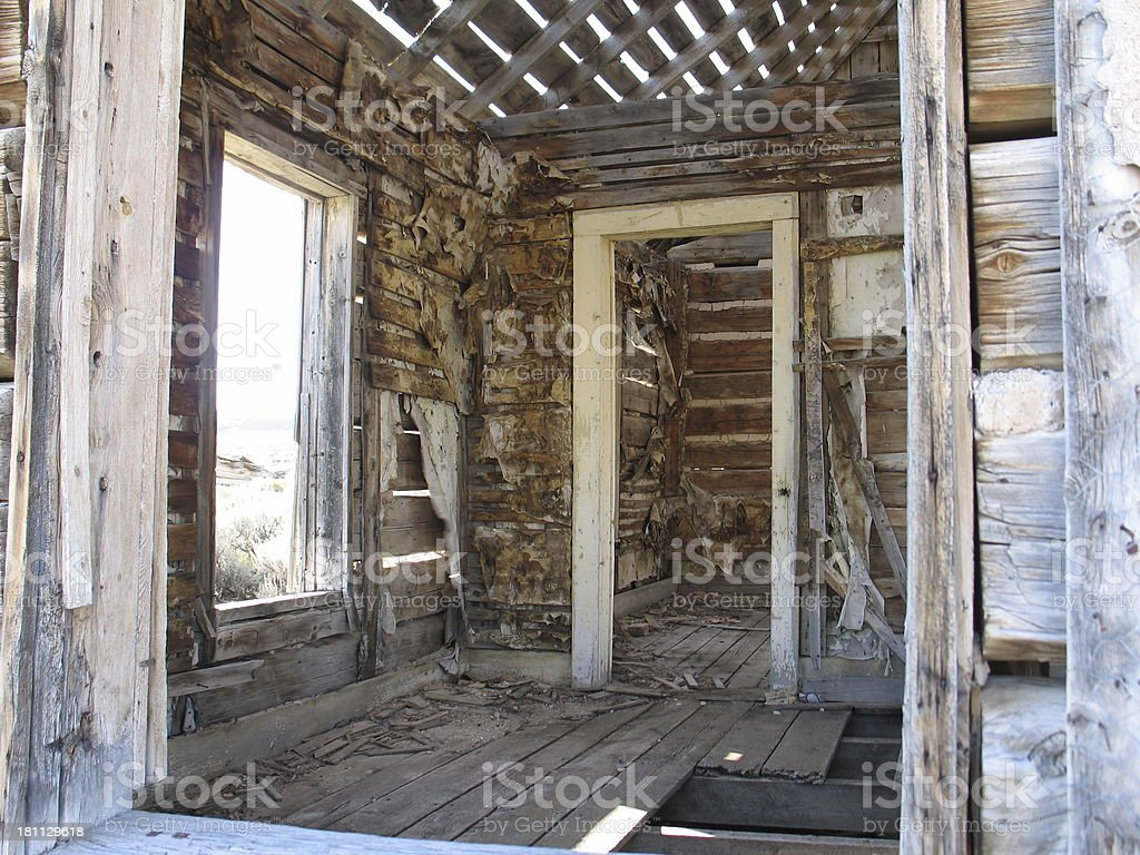 Interior Remodel (Ghost Town Version) royalty-free stock photo