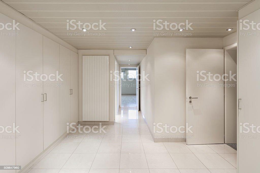 Interior, room with closets stock photo