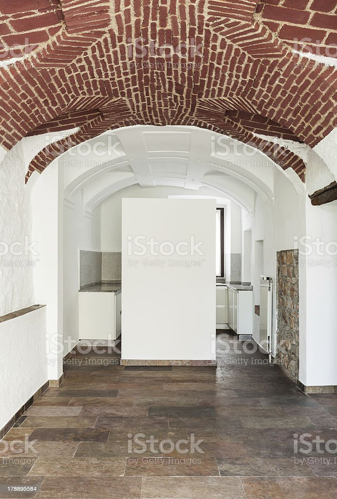 interior rustic house royalty-free stock photo