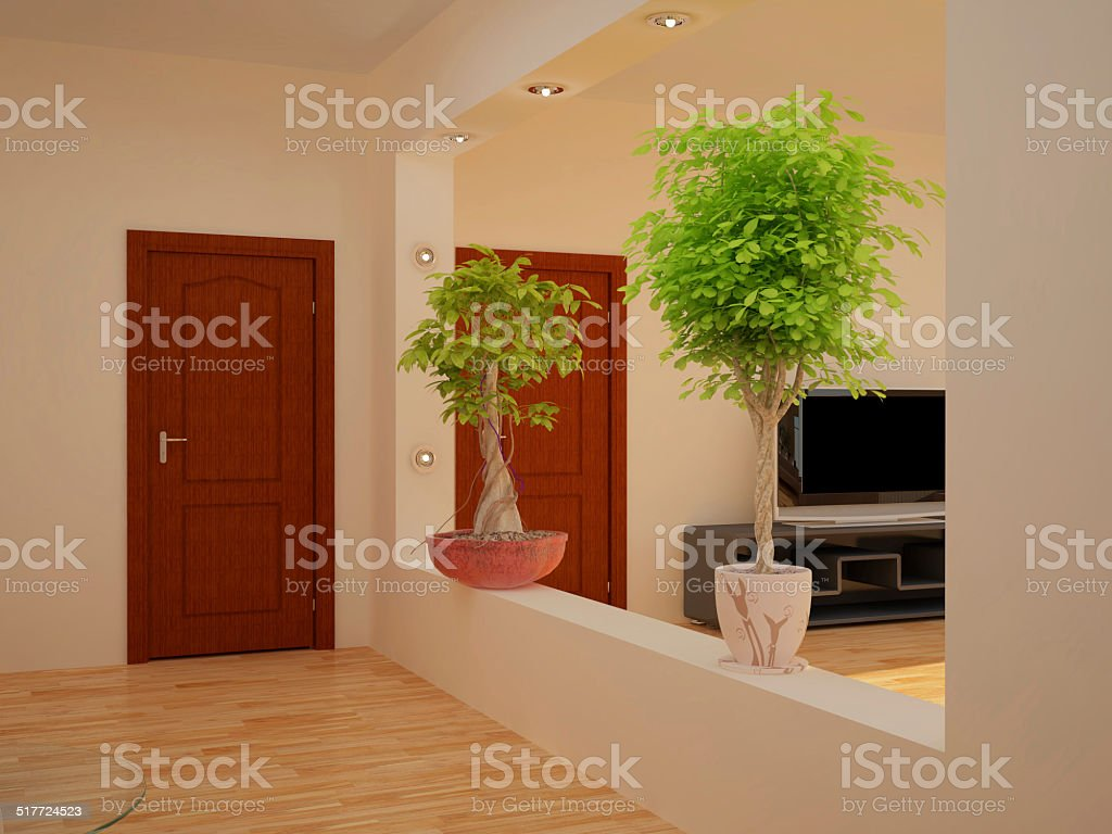 Interior set two hundred sixteen vector art illustration