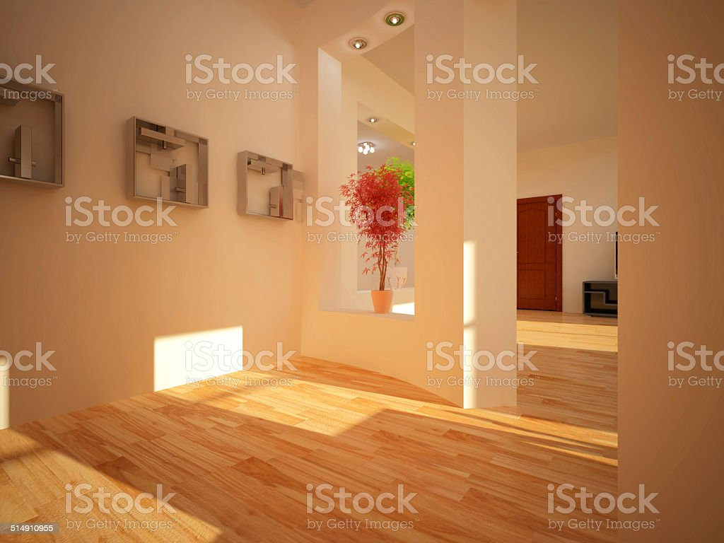 Interior set two hundred thirteen vector art illustration