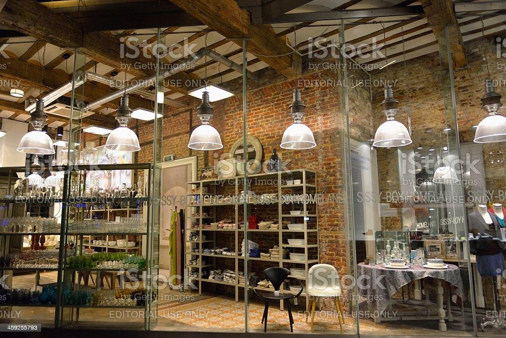 Interior shop window royalty-free stock photo