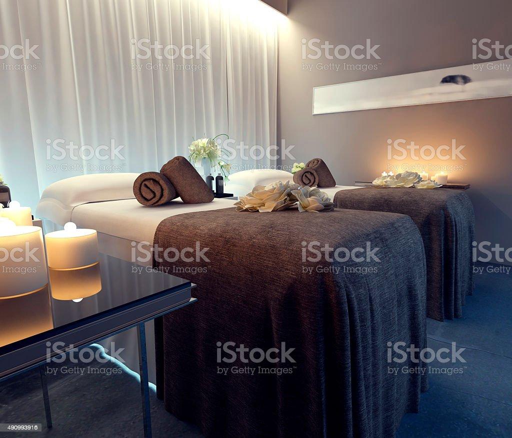 Interior spa stock photo
