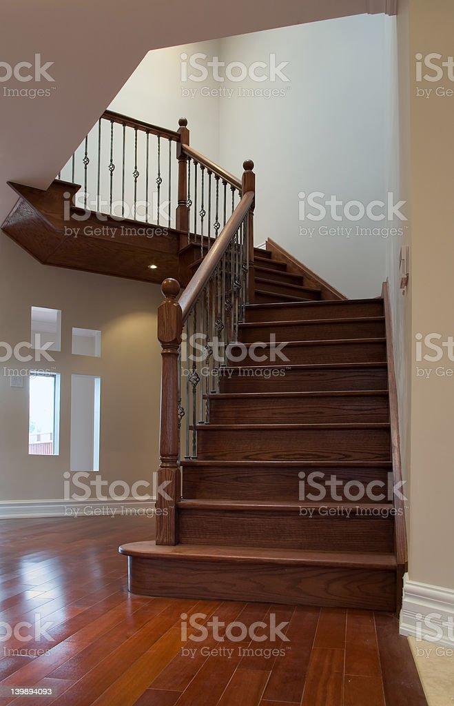 interior stair stock photo