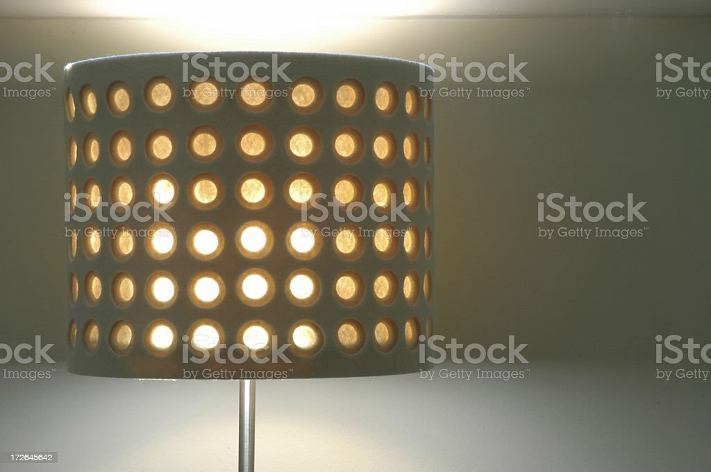 Interior - Table Lamp royalty-free stock photo