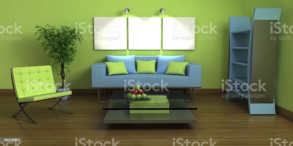 interior with colors royalty-free stock photo