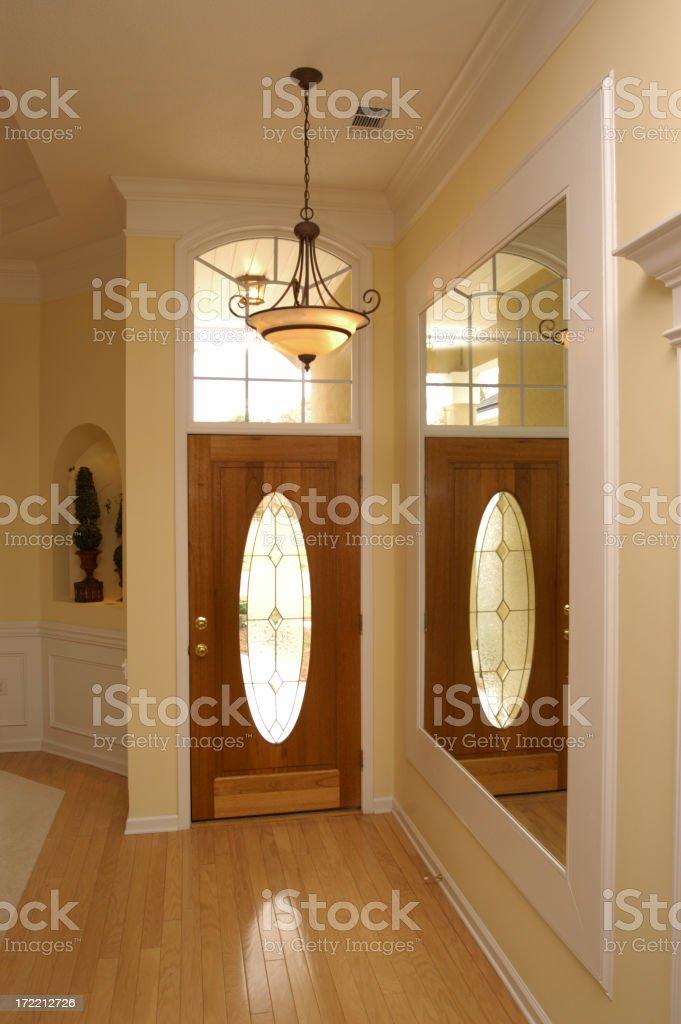 interiors: foyer 2 royalty-free stock photo
