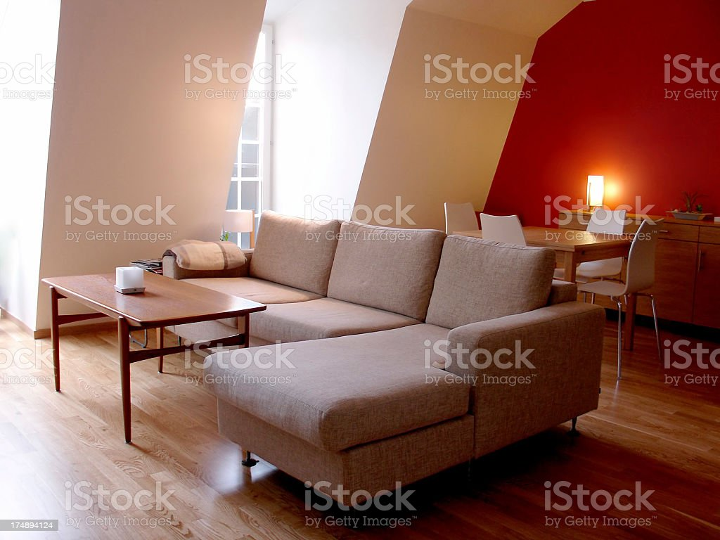 interiors: living room royalty-free stock photo