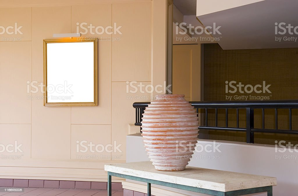 Interiors With Decorative items royalty-free stock photo