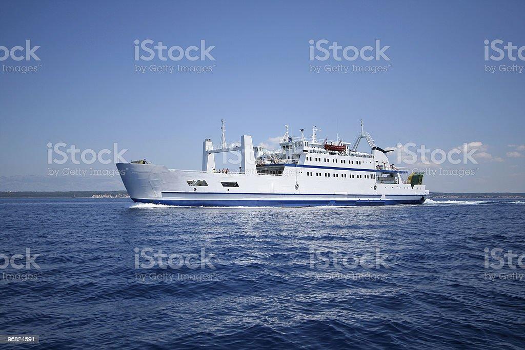 interisland ferry royalty-free stock photo