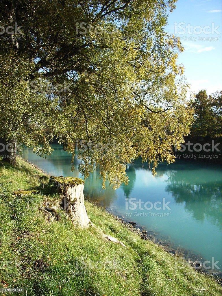 Interlaken Canal royalty-free stock photo
