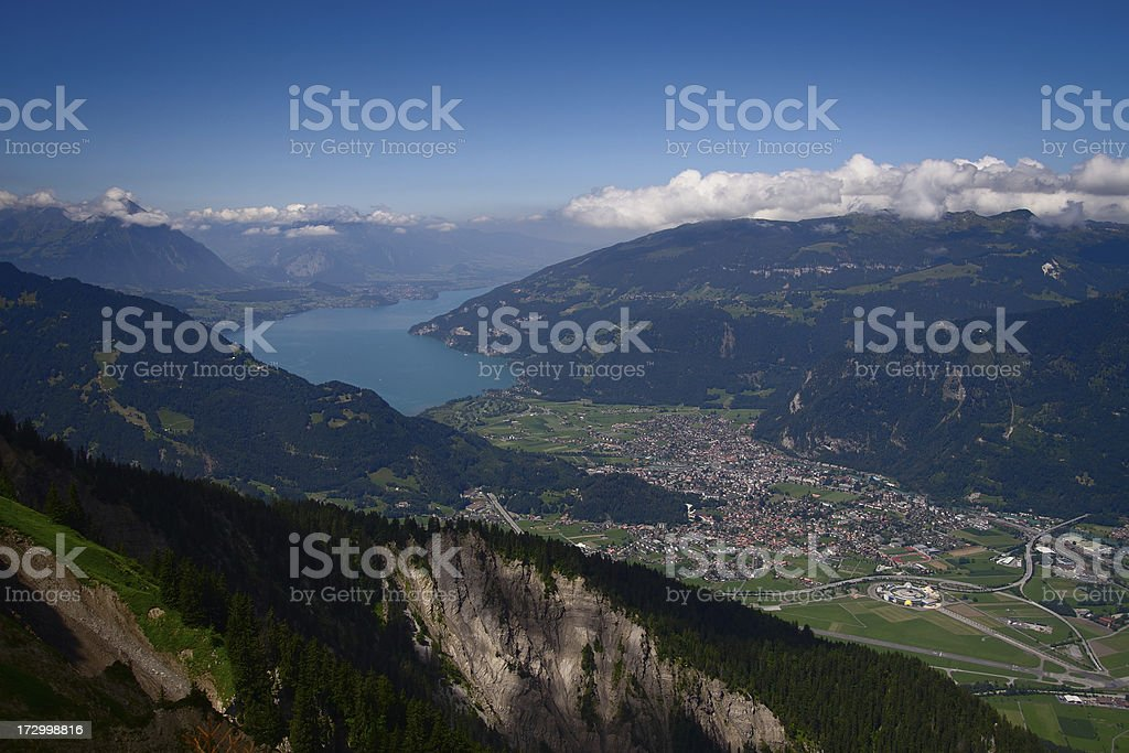 Interlaken stock photo