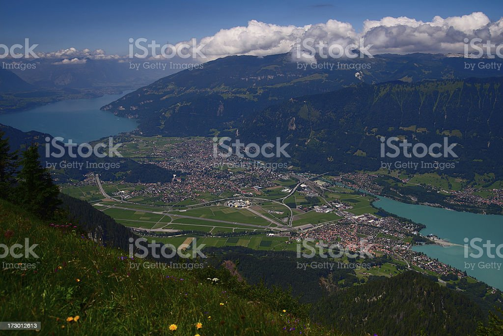 Interlaken royalty-free stock photo