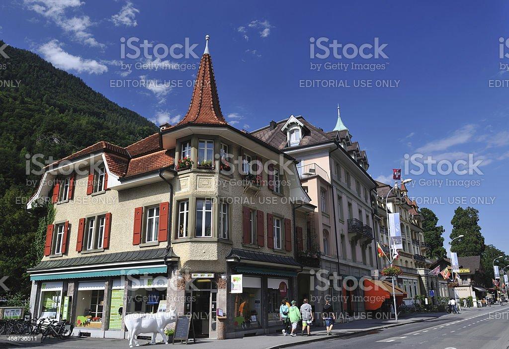 Interlaken royalty-free stock photo