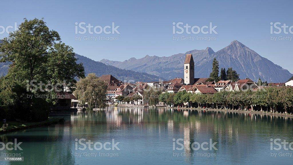 Interlaken, Switzerland stock photo