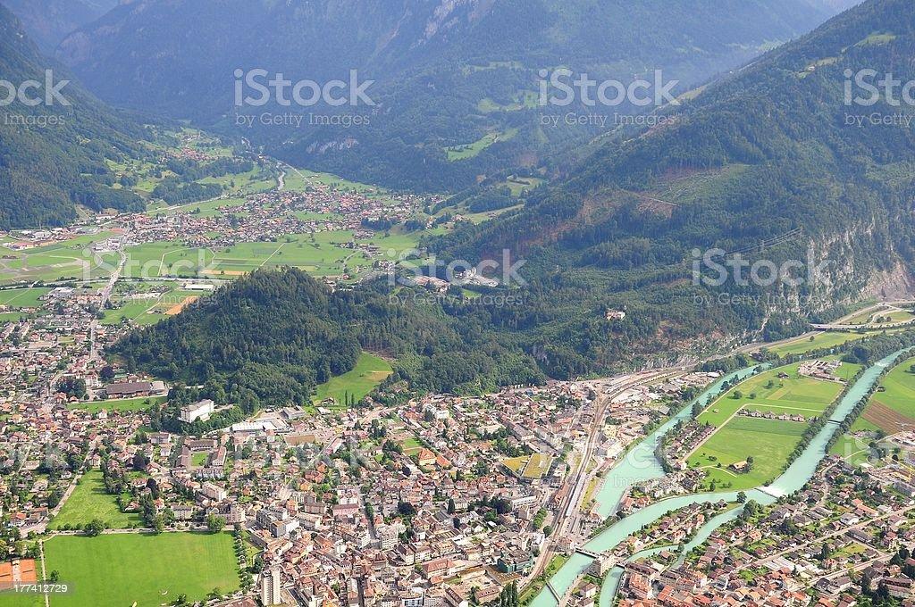 Interlaken. Switzerland. royalty-free stock photo