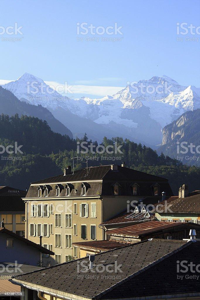 Interlaken's House royalty-free stock photo
