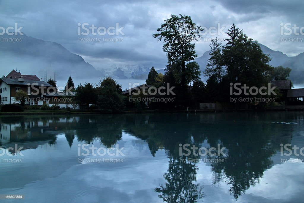 Interlaken,Swiss royalty-free stock photo