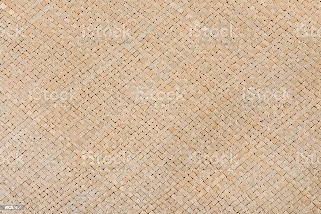 Interlocked Natural Basket Weave Texture Full Frame, with Copyspace stock photo