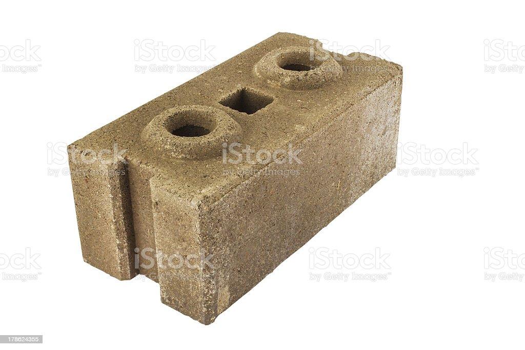 interlocking bricks royalty-free stock photo