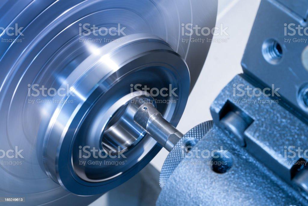 CNC internal diameter turning stock photo