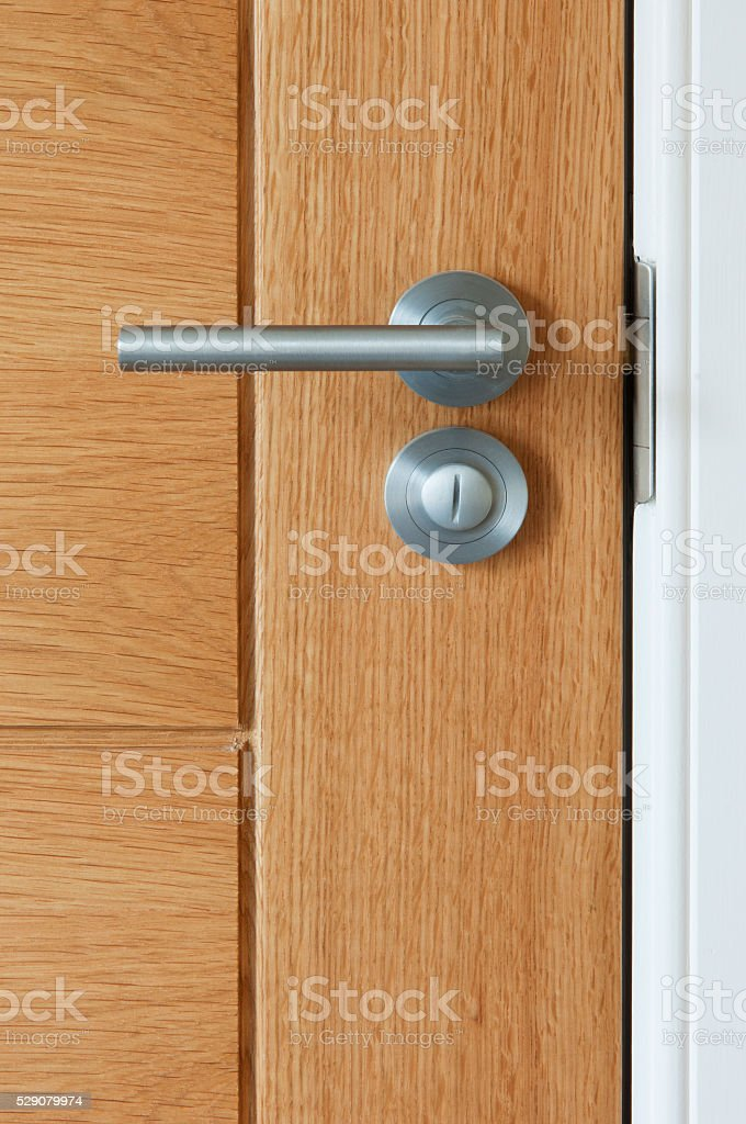 Internal door stock photo