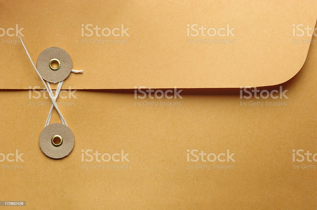 Internal Mail Envelope royalty-free stock photo