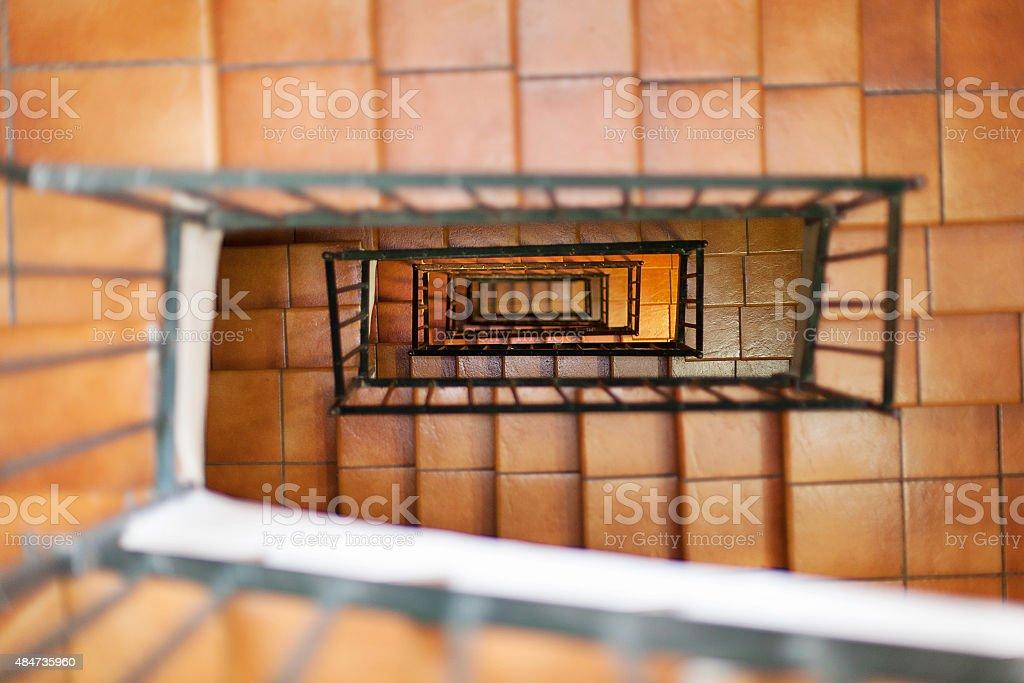 Internal Stairs stock photo