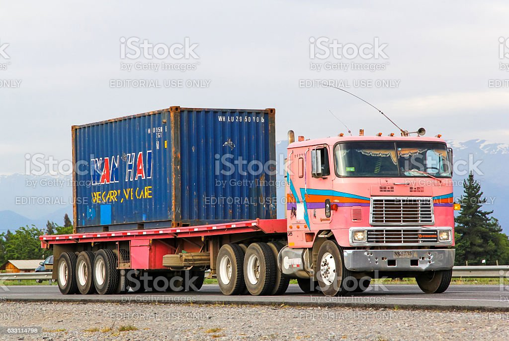 International 9600 stock photo