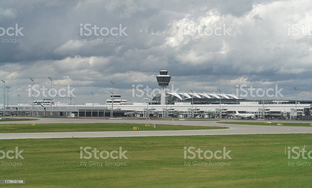 International Airport in Munich royalty-free stock photo