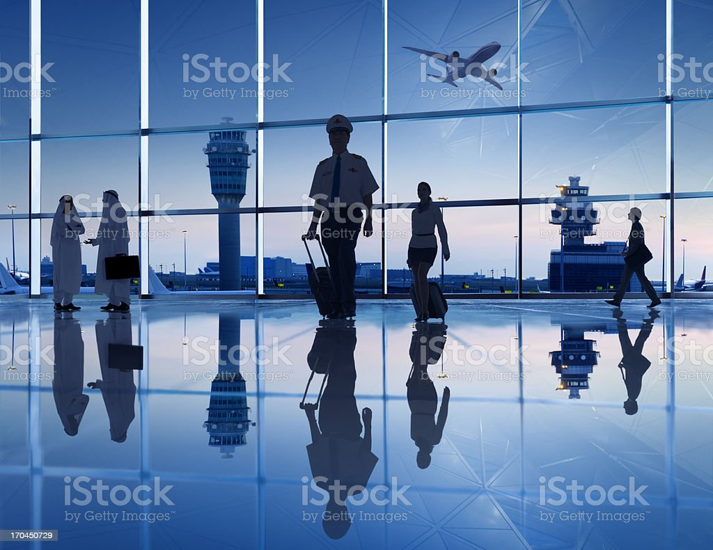 International Airport. royalty-free stock photo