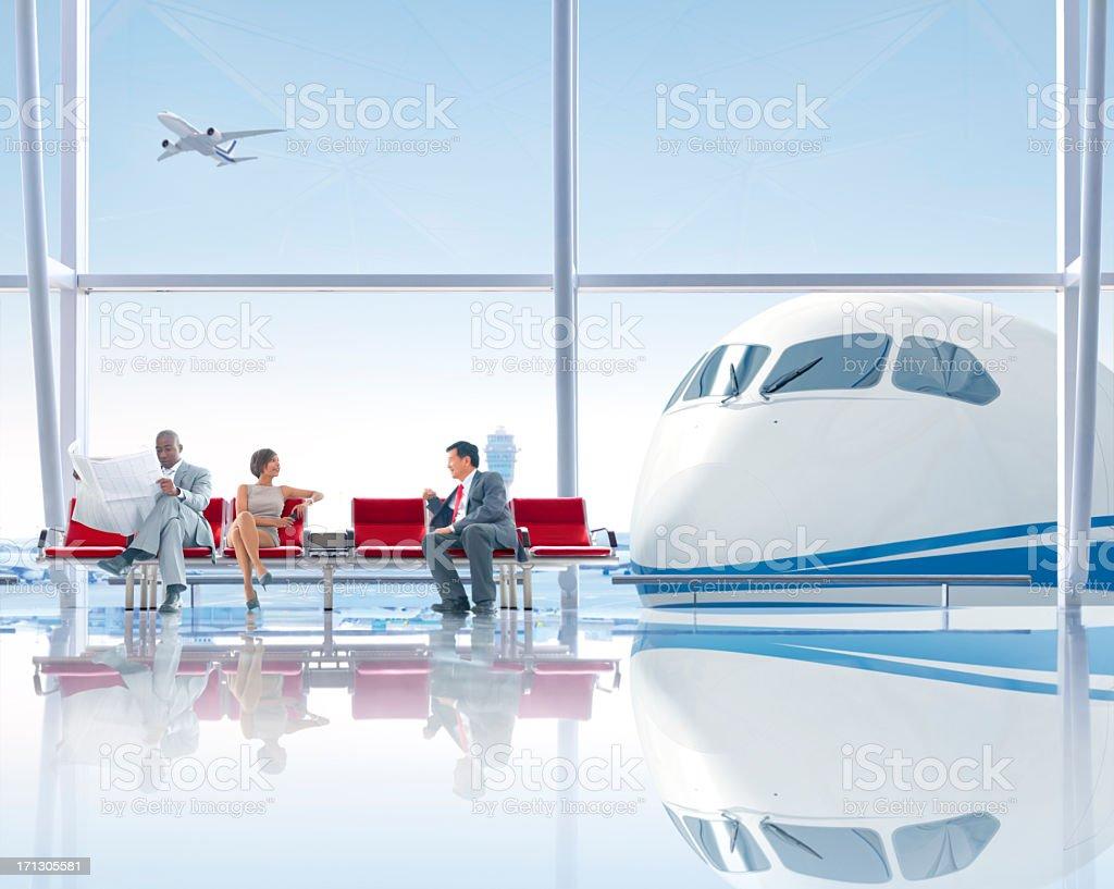 International Airport royalty-free stock photo