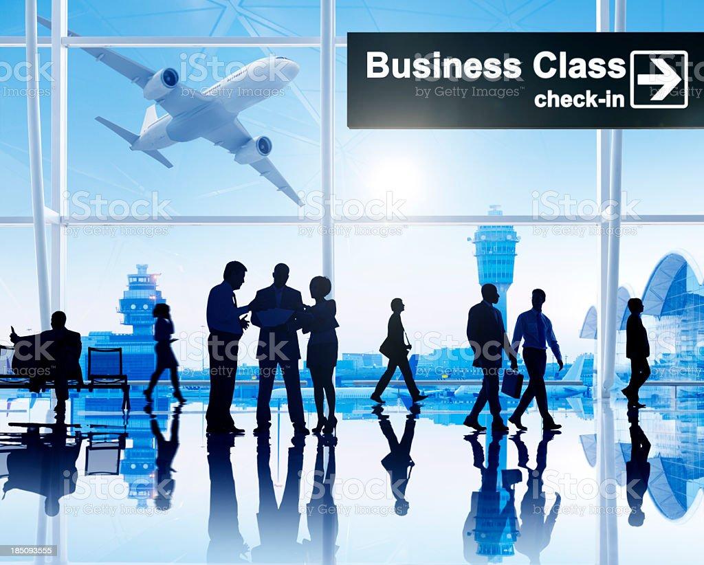 International Airport. royalty-free stock photo