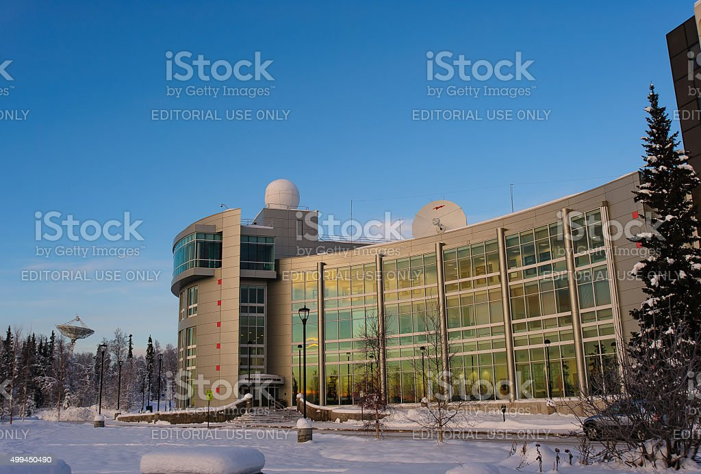 International Arctic Research Center stock photo