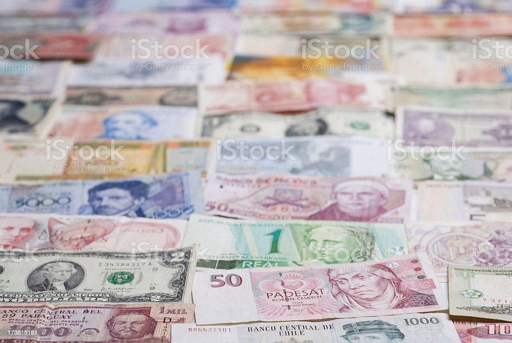 international bills royalty-free stock photo