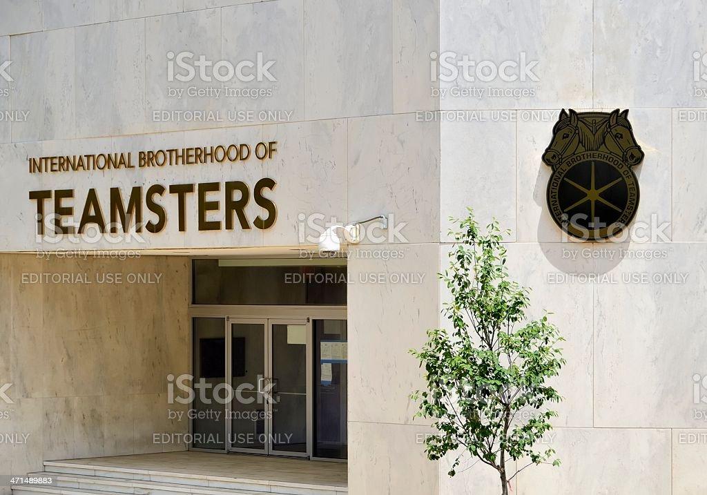 International Brotherhood of Teamsters royalty-free stock photo