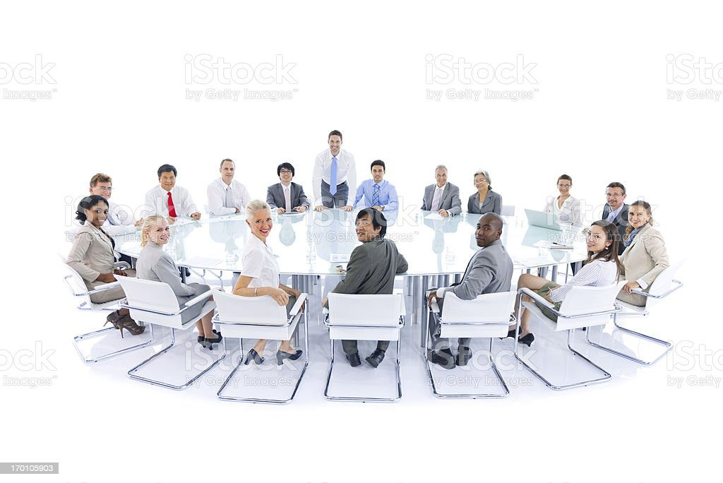International Business Meeting royalty-free stock photo