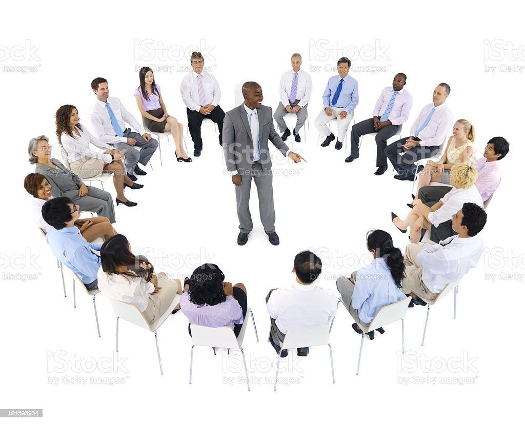International business meeting royalty-free stock photo