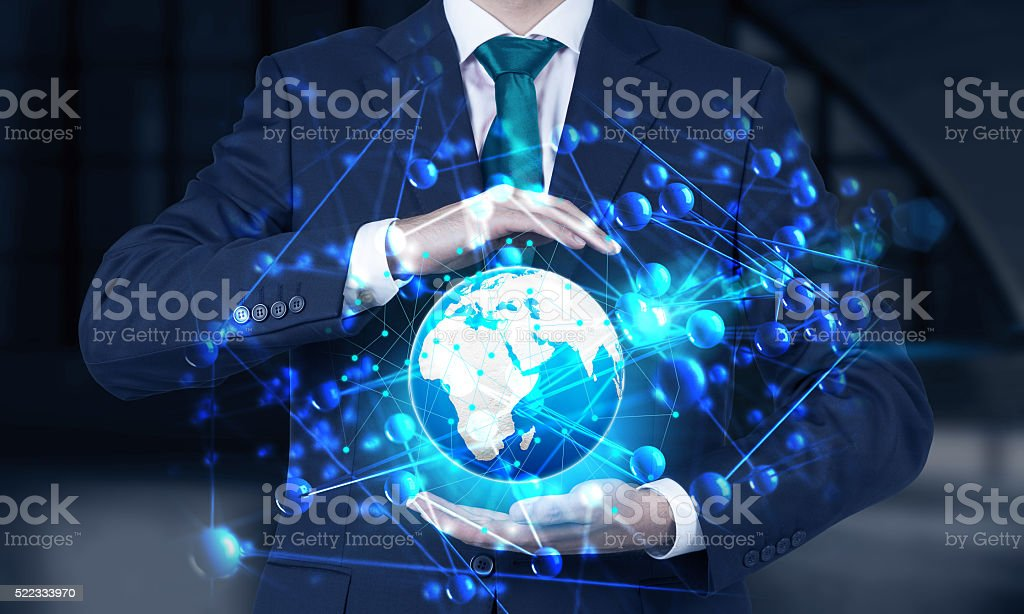 International business stock photo