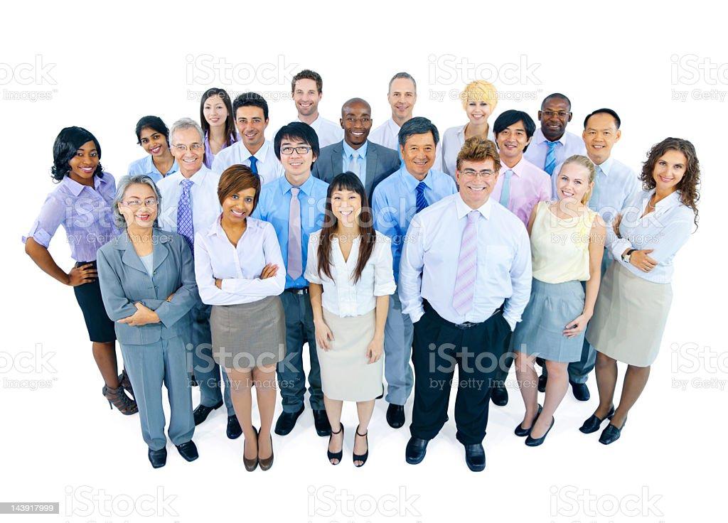 International Business Team royalty-free stock photo